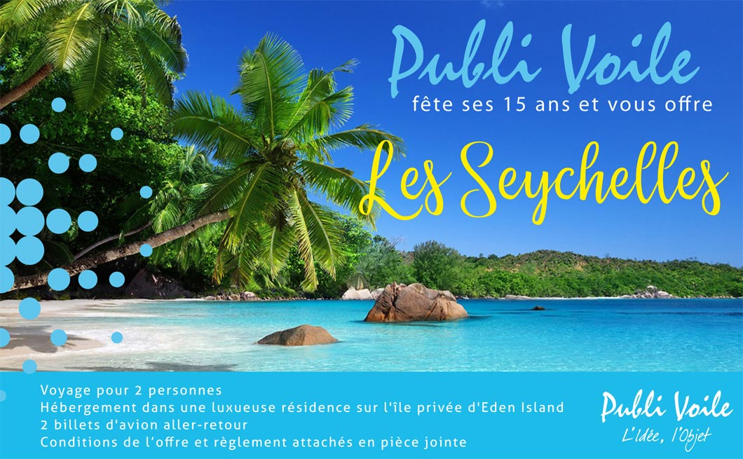 Affiche Incentive Seychelles